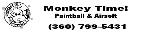 Monkey Time Paintball and Airsoft Banner