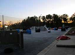View Of the Outdoor field At Safety Wolf Paintball