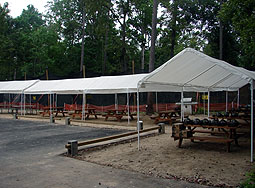 Safety Area at legends paintball field