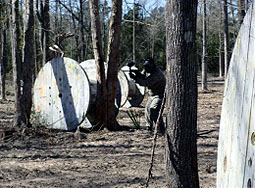legends paintball spool field