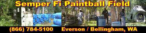 Semper Fi Paintball Banner